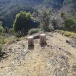 富の谷コース第一休息所