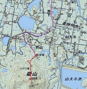 s-嶽山地図