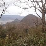 六つ目山と左伽藍山