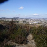 嶽山登山道より六目山堂山
