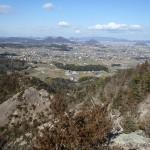 六つ目山堂山遠望