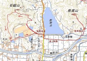 s-石鎚山&熊高山