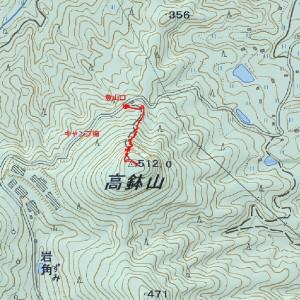 s-高鉢山ルート