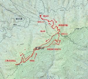 s-笠形山ルート
