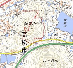s-伽藍山・鋏箱山