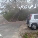 ここに駐車