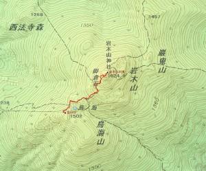 s-GPSによるルート図