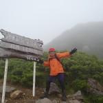 リフト降りて岩木山へ