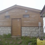 山頂の避難小屋